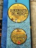 Bodeguita del Medio, La Havane photo stock