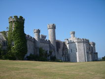 Bodelwyddan Castle Wales Stock Photo