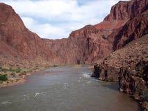 Bodem van Grand Canyon Royalty-vrije Stock Afbeeldingen