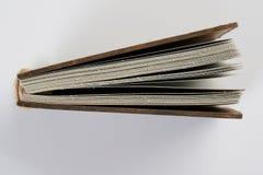 Bodem van oud boek stock fotografie