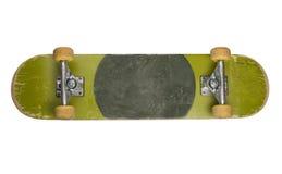Bodem van Skateboard op Witte Achtergrond royalty-vrije stock afbeelding