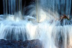 Bodem van waterval Stock Afbeeldingen