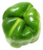 Bodem Zij Groene Groene paprika stock foto's
