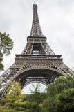 Bodemmening van de toren van Eiffel Stock Foto