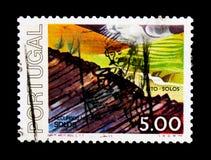 Bodemsoorten, χώματα - κύκλος φυσικού Resourcesserie, circa 197 Στοκ Εικόνες