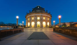 The Bodemuseum at dawn Stock Image