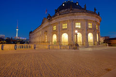 Bodemuseum with Television Tower Royalty Free Stock Photo