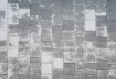 Boden gemacht vom Stein Stockbilder