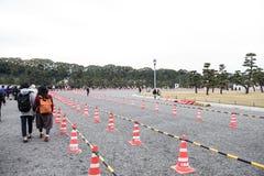Boden geteilt mit Straßensperren Lizenzfreies Stockbild