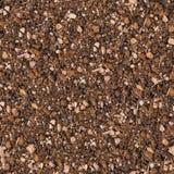 Boden mit kleinen Steinen. Nahtlose Beschaffenheit. Stockbild