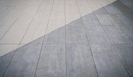 Boden mit zwei Tönen Stockfoto