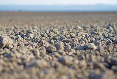 Boden-nahes hohes Urbares Land Gepflogenes Land bereit zur Bearbeitung Stockfotografie