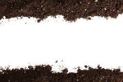 Boden- oder Schmutzabschnitt lizenzfreie stockfotos