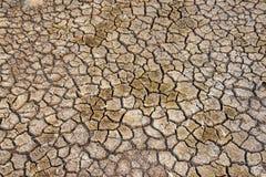 Boden trocken, Jahreszeitwasserknappheit Stockfoto