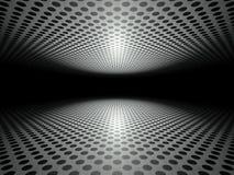 Boden und Decke gemacht von der Metallplatten-Hintergrundbeschaffenheit Lizenzfreie Stockbilder