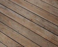 Bodenbelaghintergrund gebildet mit alten Planken Stockbild