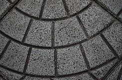 Bodenfußweg-Fliesenbeschaffenheit lizenzfreies stockfoto