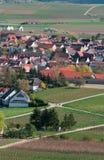 Bodenheim, eine schöne Stadt in Rheinland, Deutschland Stockbild