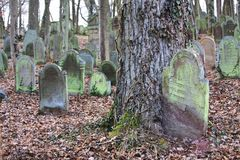 Jewich cemetery graveyard Stock Photo