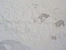 Bodenhintergrund der Zementbeschaffenheit alter weißer Farb lizenzfreie stockbilder