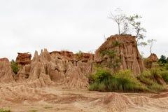 Bodenklippe, Nan, Thailand Lizenzfreie Stockbilder