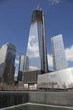 Bodennullpunkt-Freiheits-Kontrollturm Stockfoto