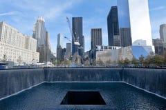 Bodennullpunkt New York City Stockfotografie