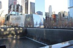 Bodennullpunkt in New York City Stockfotografie