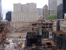 Bodennullpunkt NY Stockfotos