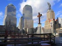 Bodennullpunkt, NYC Stockbilder
