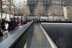 Bodennullpunkt WTC Stockfotografie