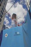 Bodennullpunkt WTC Lizenzfreie Stockfotos