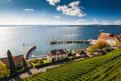 Bodensee in meersburg Royalty Free Stock Photography