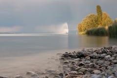 Bodensee springbrunn Royaltyfri Bild