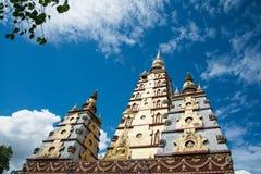 Bodh Gaya σε Wat Monmahinsilaram Στοκ εικόνα με δικαίωμα ελεύθερης χρήσης