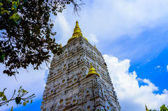Bodh Gaya, висок Mahabodhi Стоковые Изображения