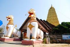 Bodh Gaya. Thai golden Bodh Gaya in Sangkhlaburi, Thailand Royalty Free Stock Photo