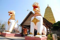 Bodh Gaya. Thai golden Bodh Gaya in Sangkhlaburi, Thailand Stock Image