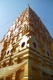 Bodh Gaya. Thai golden Bodh Gaya in Sangkhlaburi, Thailand Royalty Free Stock Images