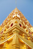 Bodh Gaya. Thai golden Bodh Gaya in Sangkhlaburi, Thailand Royalty Free Stock Photography