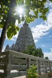 Bodh gaya på WatChongkham, Ngao område, Lampang provice Thailand royaltyfria bilder