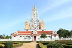 Bodh Gaya Pagoda, Mahabodhi-Tempel Stock Afbeeldingen