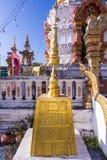 Bodh Gaya pagoda model. Art Stock Image