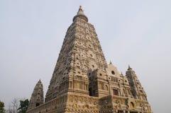 Bodh Gaya pagoda at Wat Chong Kham , Lampang provinc in Thailand. Build models from India Royalty Free Stock Photos