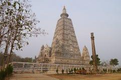 Bodh Gaya pagoda at Wat Chong Kham , Lampang province,Thailand. Build models from India Royalty Free Stock Photo
