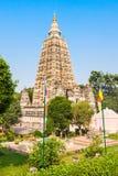 Mahabodhi Temple, Bodhgaya Royalty Free Stock Photos