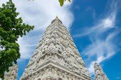 Bodh gaya WatChongkham, Ngao område, Lampang provice Thailand royaltyfria bilder