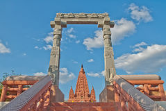 Bodhgaya  architecture Royalty Free Stock Photos