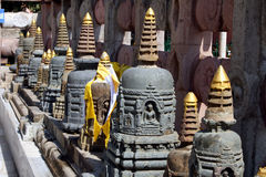 Bodhgaya Buddhist Temple Stock Photo