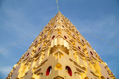 Bodhgaya Pagoda Simulation in Thailand Stock Photo